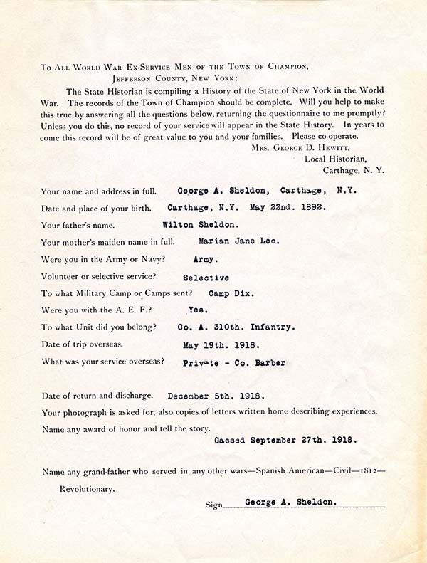 Jefferson County :: New York State Archives Partnership Trust