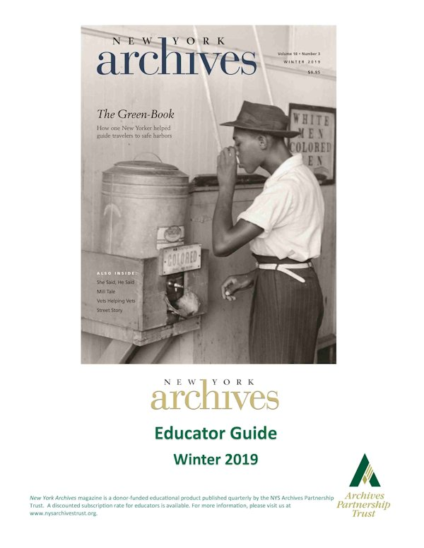 New York Archives Educators Guide Winter 2019