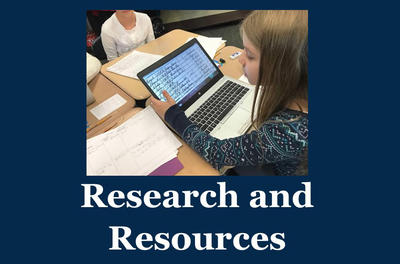 Research and Resources